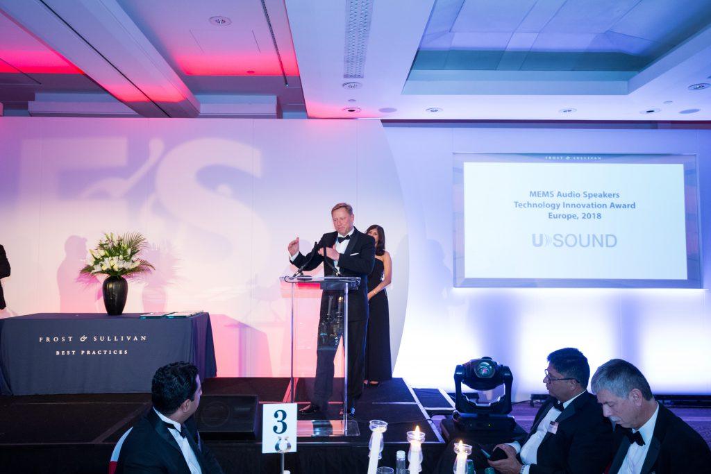 USound wins Frost & Sullivan Award