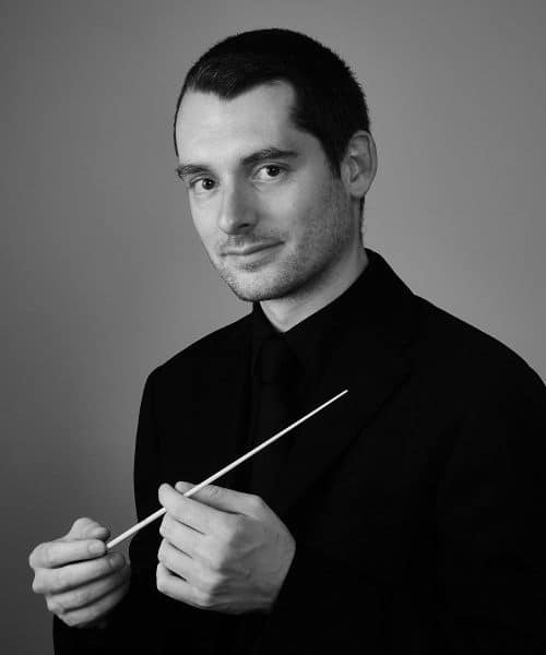 Professional conductor Simone Zuccatti. Photo by Julian Watt (Sydney, Australia)