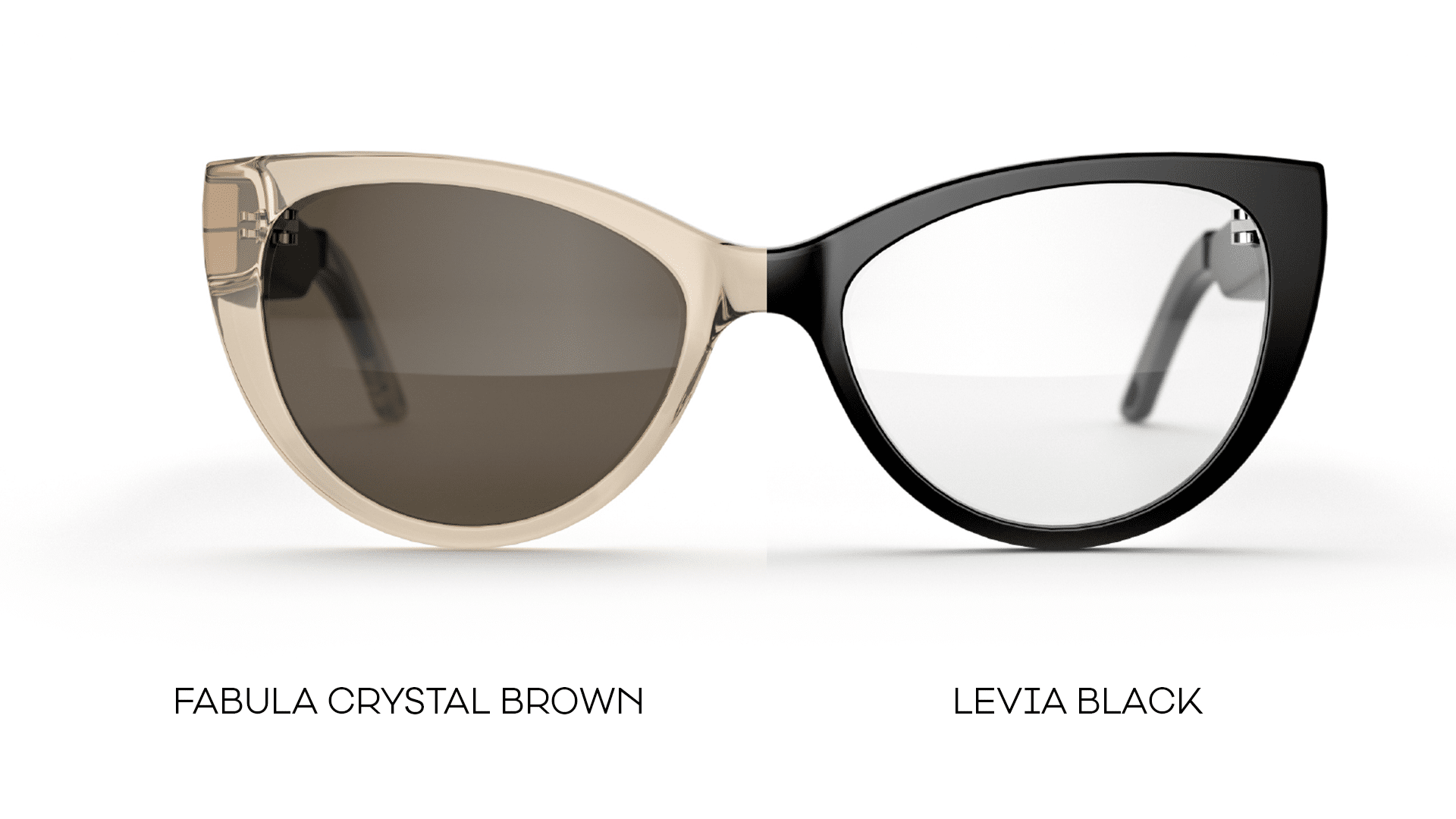 Fauna audio eyewear in two different styles - powered by USound's MEMS technology.