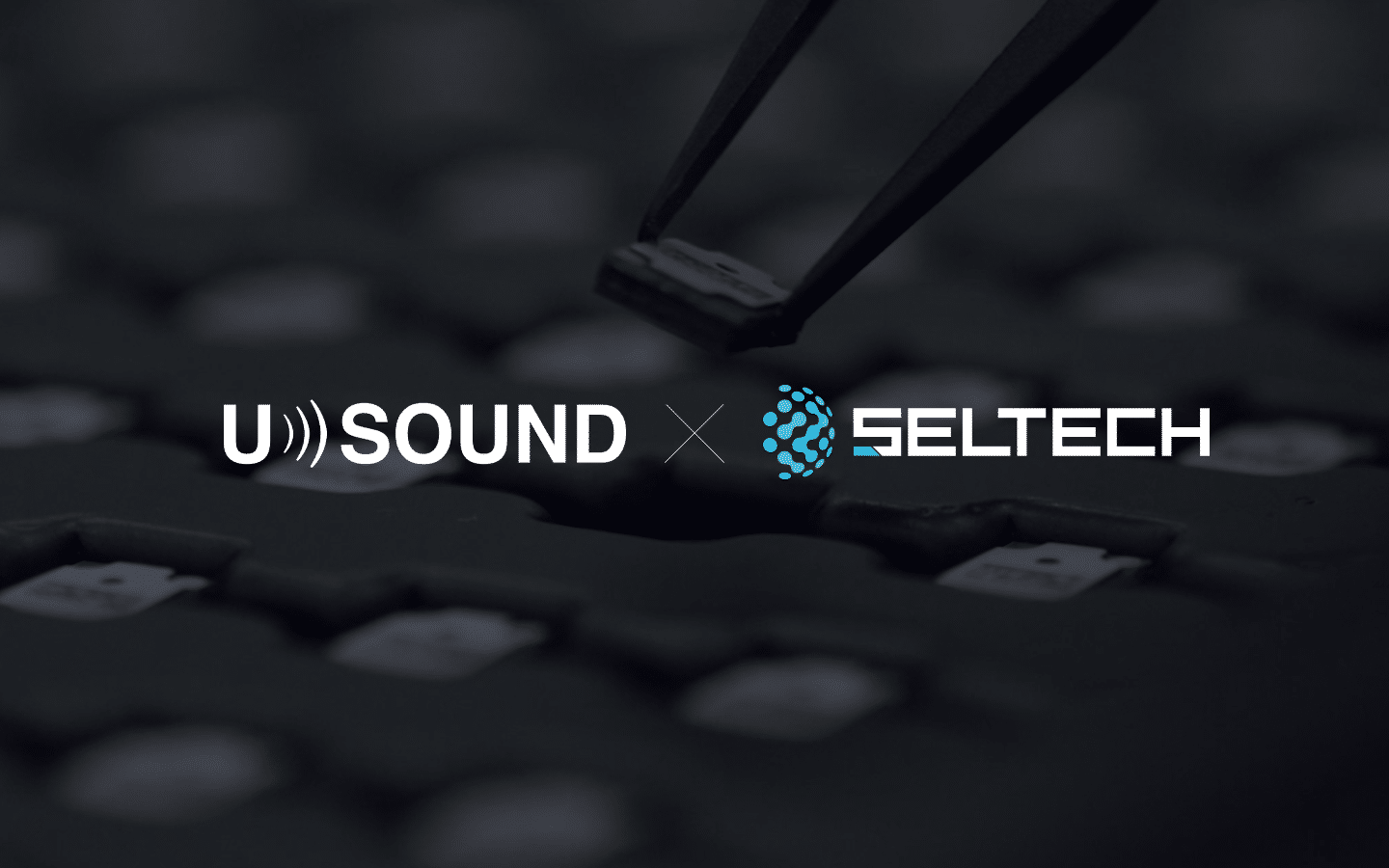 USound and seltech logos announcing cooperation